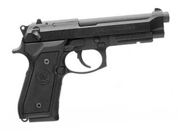 "Picture of BERETTA M9A1 9MM 4.9"" BL 2-10RD"