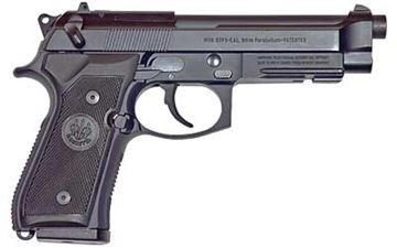 "Picture of BERETTA M9A1 9MM 4.9"" BL 2-15RD"