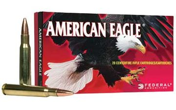 Picture of FED AM EAGLE 762X51 168GR M1A 20/200