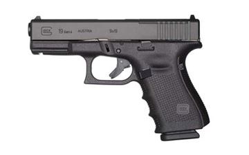 Picture of GLOCK 19 GEN4 9MM 15RD MOS