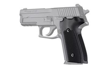 Picture of HOGUE ALUM SIG P228 DA/SA CHCKRD BLK
