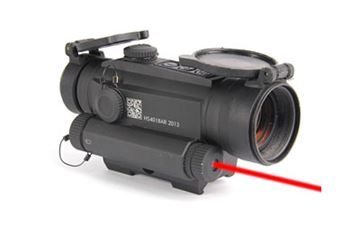 Picture of HOLOSUN 2MOA RED DOT 30MM SIDE LASER
