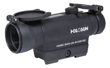Picture of HOLOSUN 2MOA RED DOT 30MM SOLAR