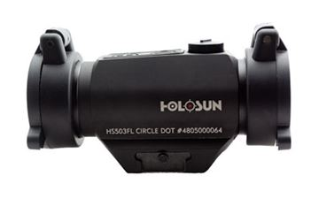 Picture of HOLOSUN DUAL RETICLES ARD/CAPS/BTTRY