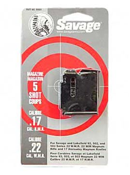 Picture of MAG SAV 93 SER 22WMR/17HMR 5RD BL