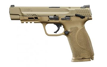 """Picture of S&W M&P 2.0 40SW 5"""" 15RD FDE NMS TS"""