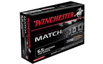 Picture of WIN MATCH 6.5 CREEDMOOR BTHP 20/200