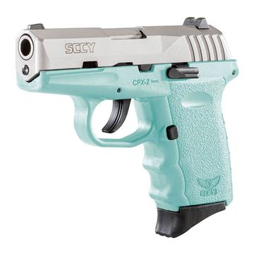 Picture of SCCY CPX-2 9 mm Subcompact Pistol CPX-2-TTSB