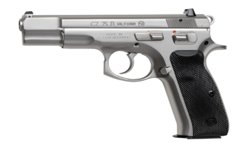 Picture of CZ 75 B Matte Stainless – 9 mm Pistol - 91128