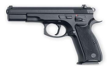 Picture of CZ 75 B Singal Action Black 9 mm Pistol - 01150
