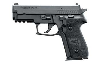 Picture of Sig Sauer E29R-40-BSS P229 Pistol .40 SW, Black Night Sights