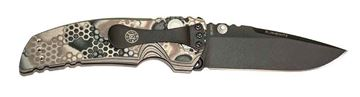 Picture of Hogue EX-01 3.5 inch  Folder Drop Point Blade, Cerakote G10 Frame Tread, G-Mascus Dark Earth