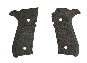 Picture of Hogue Mascus Black Rex Zero 1S Grip Panels