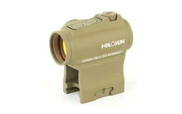 Picture of HOLOSUN DUAL RETICLES SIDE BTRY FDE