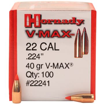 Picture of 22 Cal .224 40gr VMAX /100