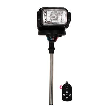 Picture of Gobee Stanchion Mount w/Remote - Black