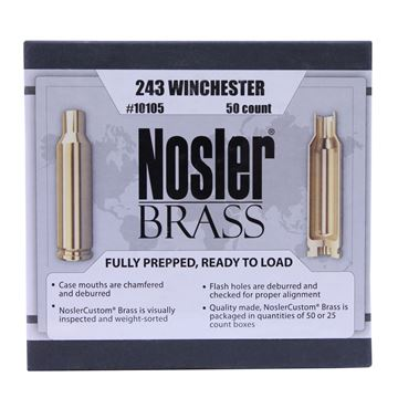 Picture of 243 Winchester Brass (50 ct)