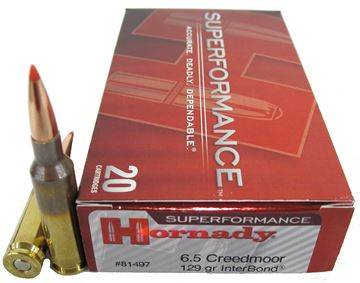 Picture of Ammo 6.5 Creedmoor 129gr Interbond SPF/20