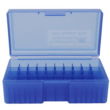Picture of #507,  44 Sp./44 Mag. 50ct. Ammo Box Blue