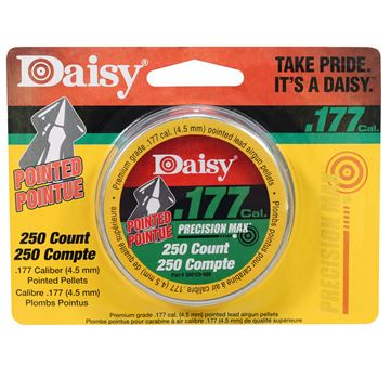 Picture of .177 Cal. Pointed Pellets - 250 Tin