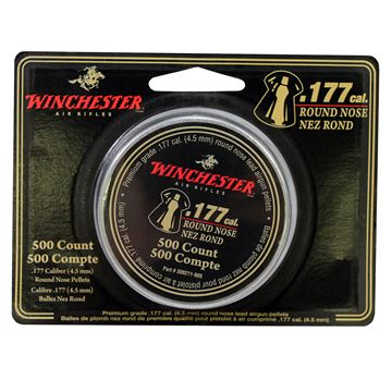 Picture of .177 Cal. Round Nose Pellets - 500 Tin
