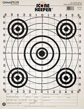 Picture of 100 Yd Rifle Sightin, B/B (12/Pk)