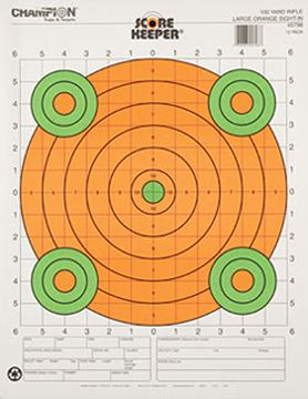 Picture of 100 Yd Sight In  Lg Orange (12/Pk)