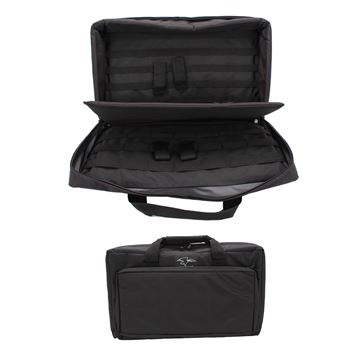 """Picture of 22"""" Discreet Double Square Case - Blk"""