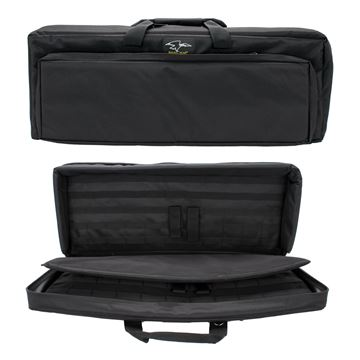 """Picture of 32"""" Discreet Double Square Case - Blk"""