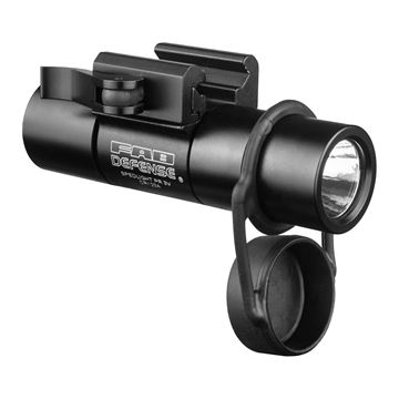 "Picture of 378Lumen LED 1""dia Flashlight+PicatinnyMt"