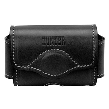 Picture of Adjustable Cell Phone Holster Leather Blk