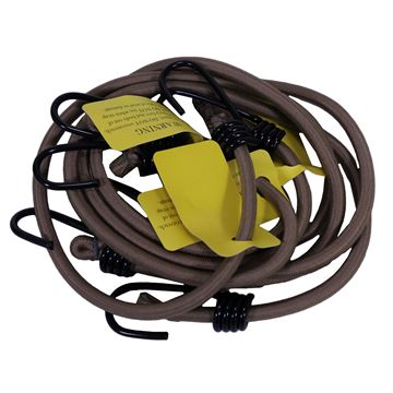 Picture of Camcon HvyDty Bungee Cords Tan 4Pk