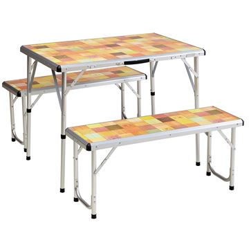 Picture of Table Packaway Picnic Set Mosaic