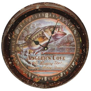 Picture of Bass Metal Clock 15