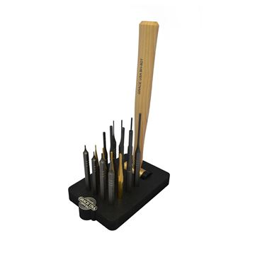 Picture of 17 Piece AR15 Punch Set w/Bench Block