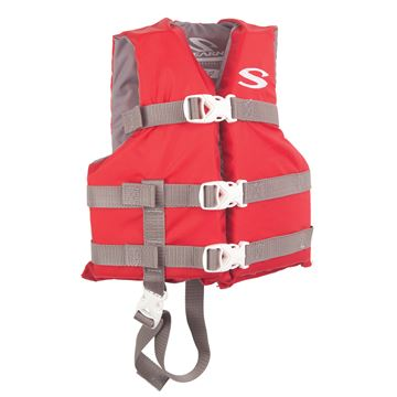 Picture of PFD 3004 CAT BOATING VEST CHLD  RED C006
