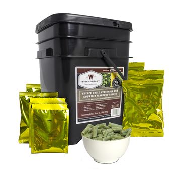 Picture of FreezeDried Vege&Sauce Bucket 120Serving