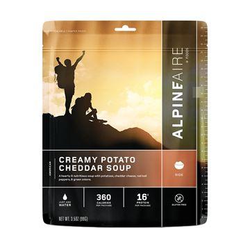 Picture of Creamy Potato Cheddar Soup Serves 2