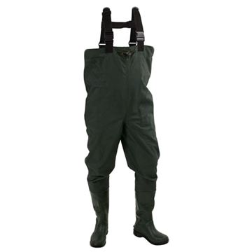 Picture of Cascades 2P RubberBootftDrkGrn 10 Cleated