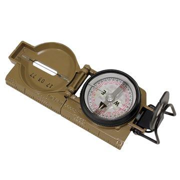 Picture of Compass, Lensatic, Tritium, Coyote Brown