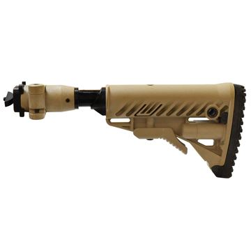 Picture of Fldg Clsb Stock for Milled AK Rifles-FDE