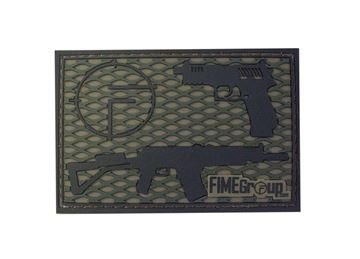 PVC Velcro Fime Patch Vepr and Rex