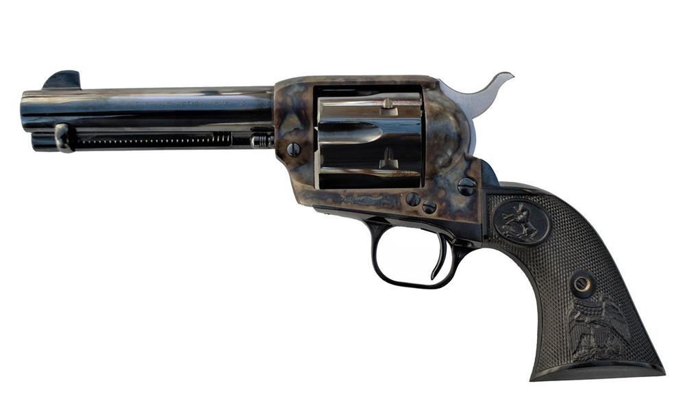 Case-hardened Colt Single Action Army
