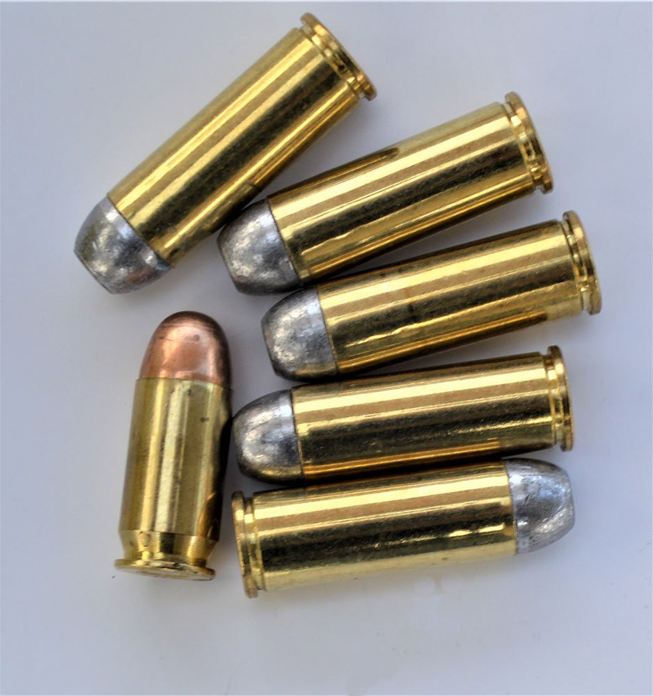 .45 Colt loads compared to the .45 ACP.