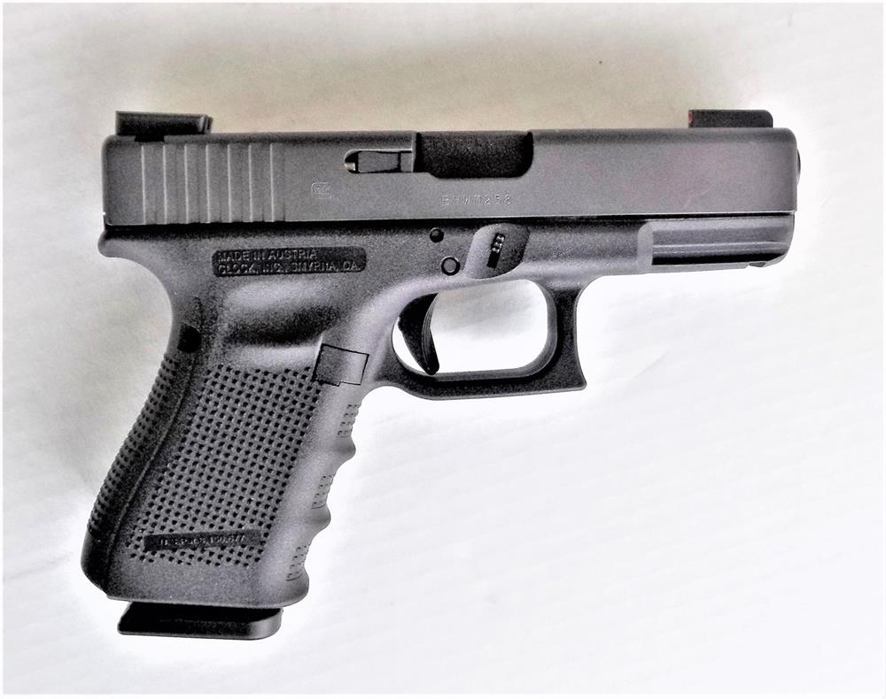 Glock 19 pistol right profile