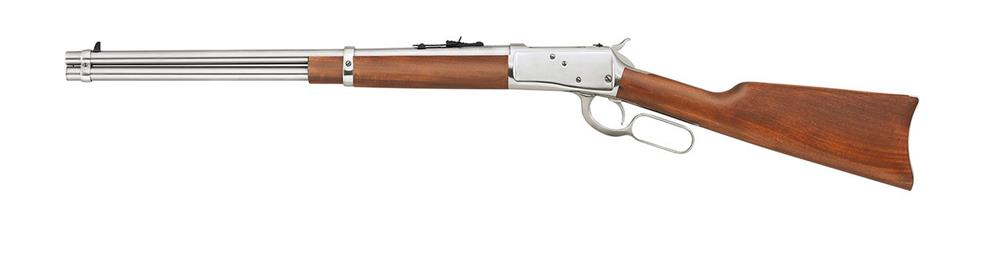 Rossi Frontier lever action rifle with stainless steel barrel and standard lever