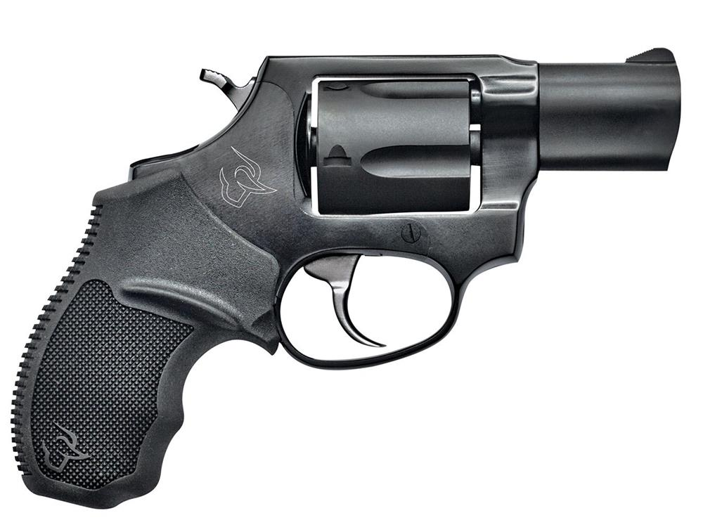 Taurus 856 revolver black, right, profile