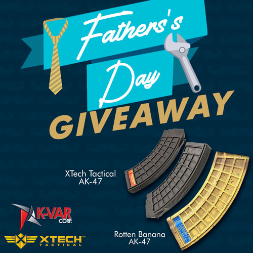 Father's Day Giveaway 6 AK-47 Magazines 7.62x39