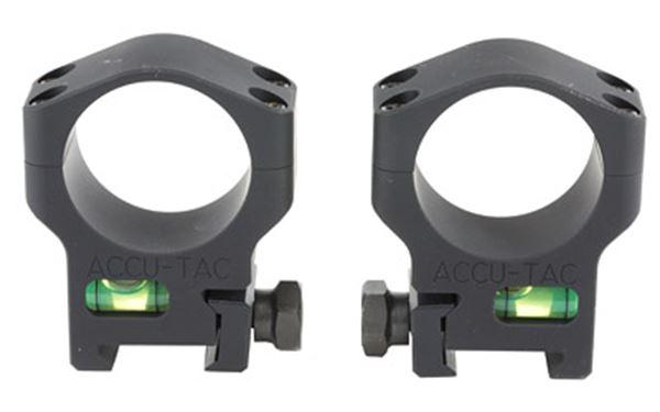 ACCU-TAC SCOPE RINGS 34MM BLK