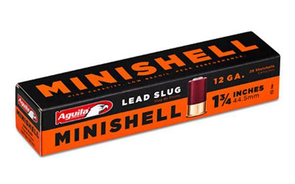 AGUILA MINISHELL 12GA SLUG 20/500